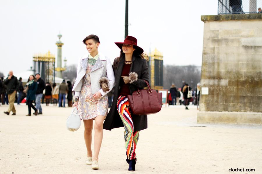 Paris Fashion Week Street Style I