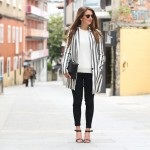 Stripped blazer