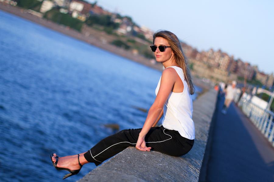 IMG_0420 Clochet zara pyjama black and white trousers