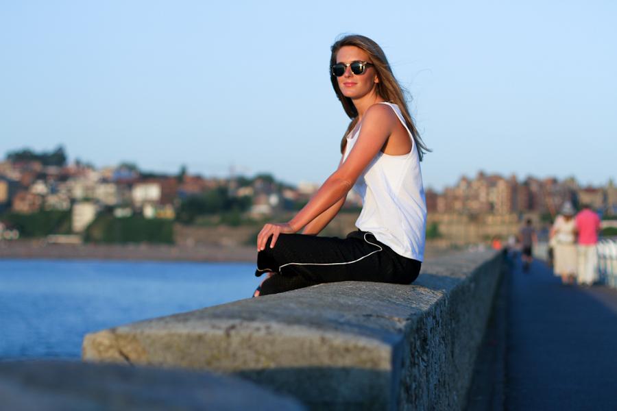 IMG_0426 Clochet zara pyjama black and white trousers