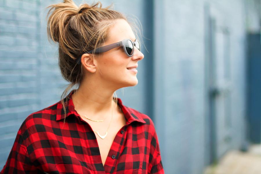 IMG_8251-Clochet red check shirt dress