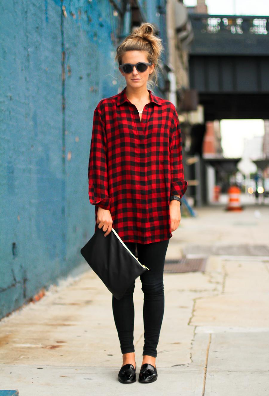 IMG_8267-Clochet red check shirt dress