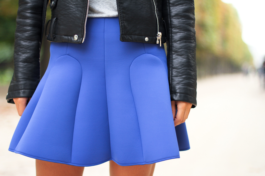 IMG_0355- Clochet & other stories neoprene skirt
