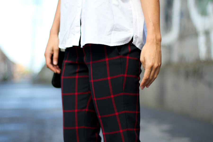 IMG_4872- Clochet zara checked trousers