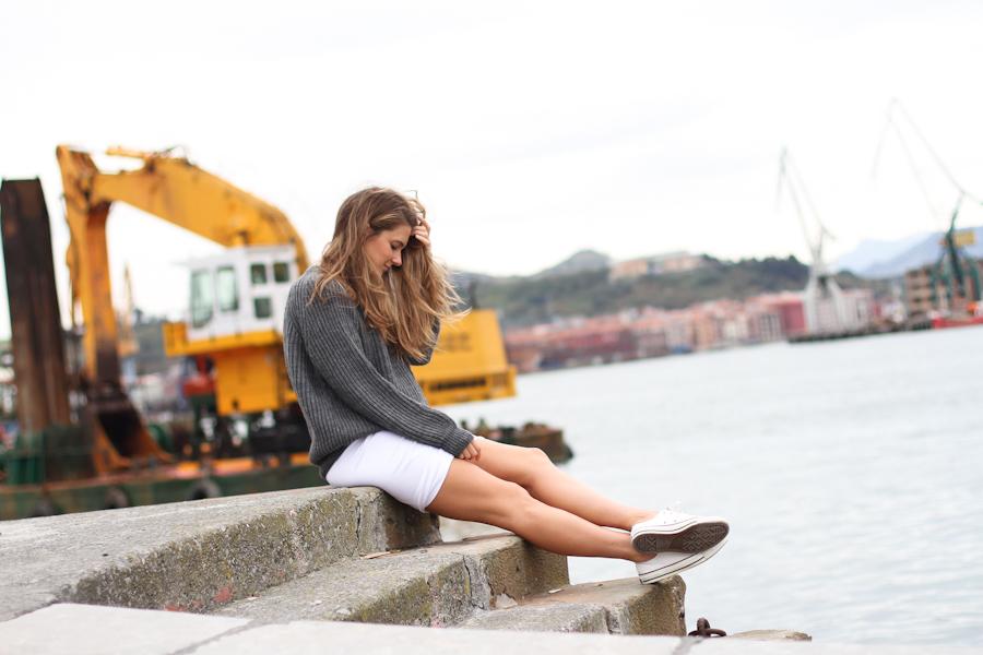 Clochet t by alexander wang skirt cozy knit-3