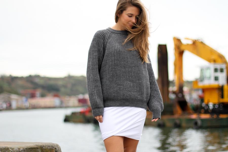 Clochet t by alexander wang skirt cozy knit-7