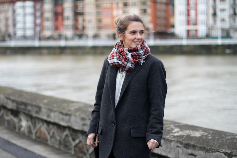 Isabel Marant Pour h&m wool grey jacket-1-5
