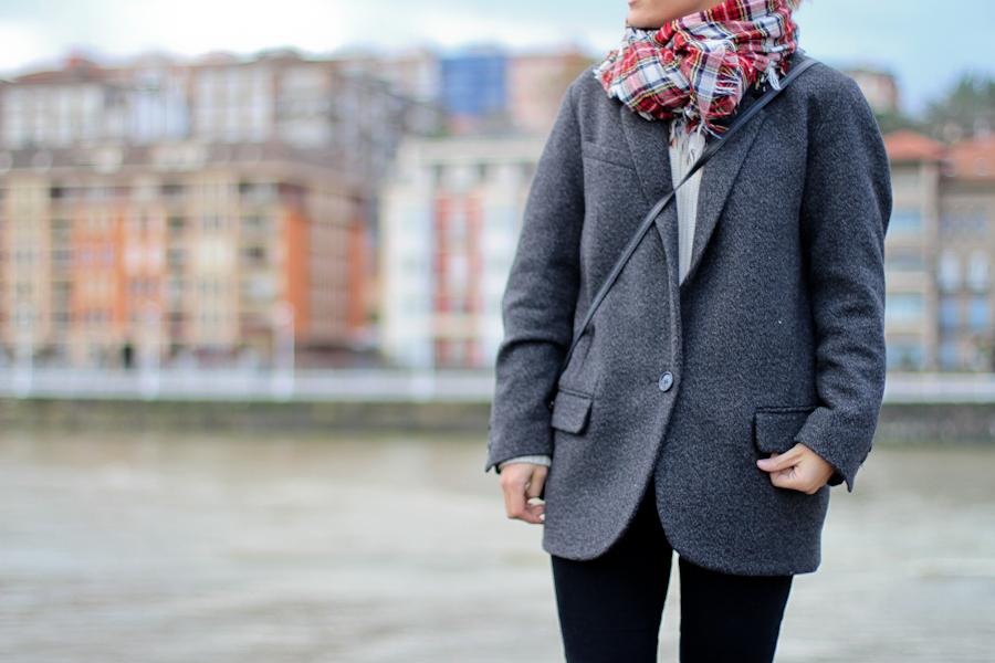 Isabel Marant Pour h&m wool grey jacket-1-6