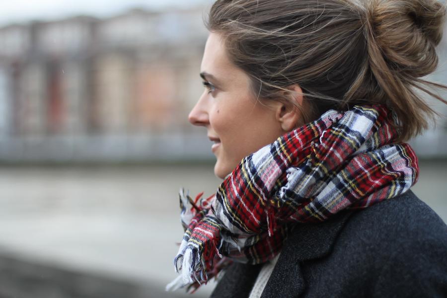 Isabel Marant Pour h&m wool grey jacket-1-8
