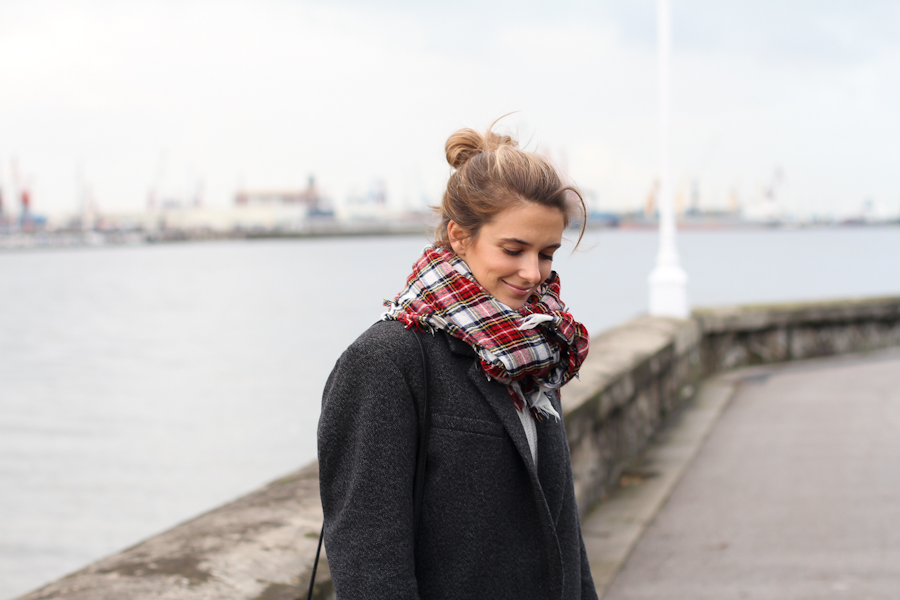 Isabel Marant Pour h&m wool grey jacket-1