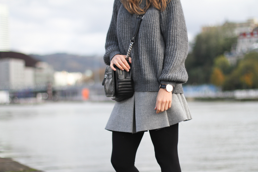 clochet zara grey skirt grey knit-7