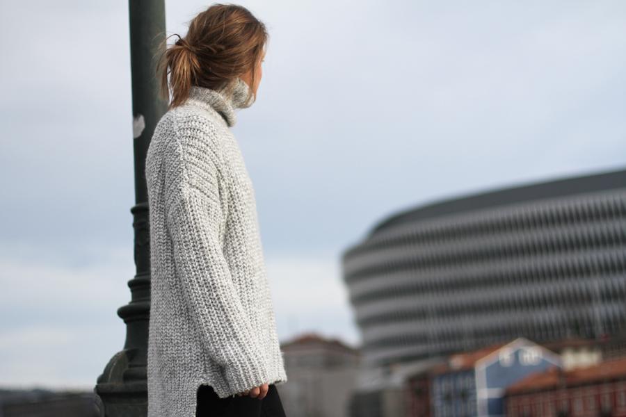 clochet - zara big cozy knit - isabel marant pour h&m oversized wool jacket-_-10