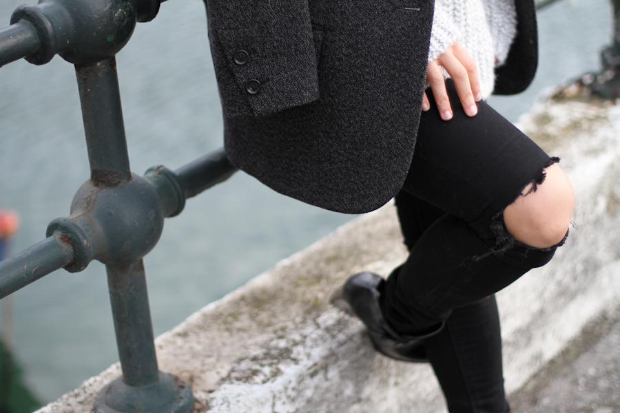 clochet - zara big cozy knit - isabel marant pour h&m oversized wool jacket-_-3