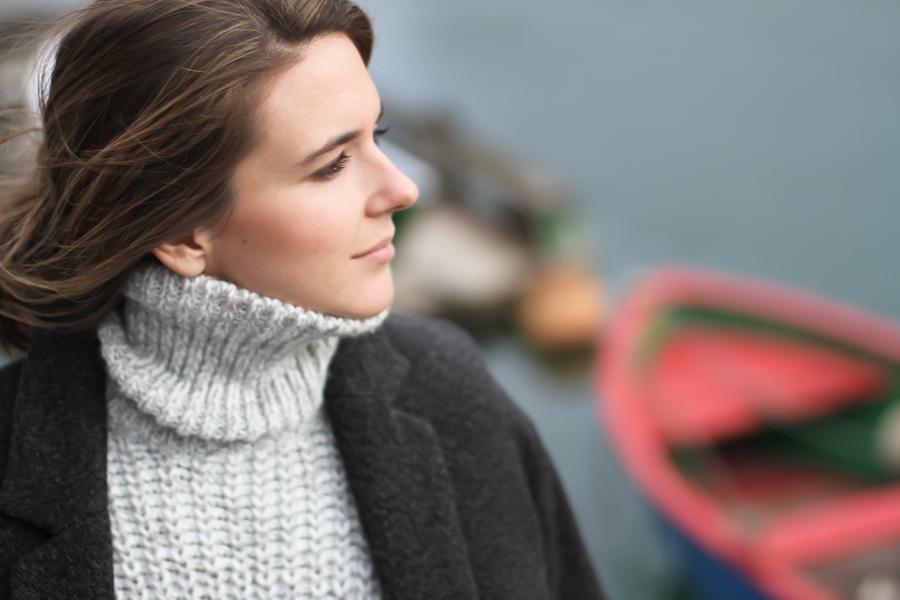 clochet - zara big cozy knit - isabel marant pour h&m oversized wool jacket-_-6
