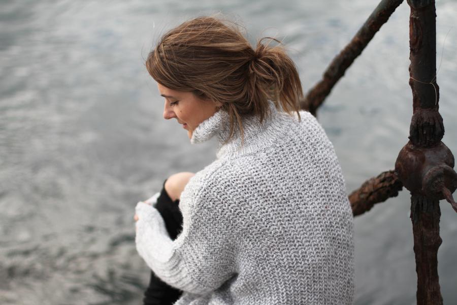 clochet - zara big cozy knit - isabel marant pour h&m oversized wool jacket-_-8
