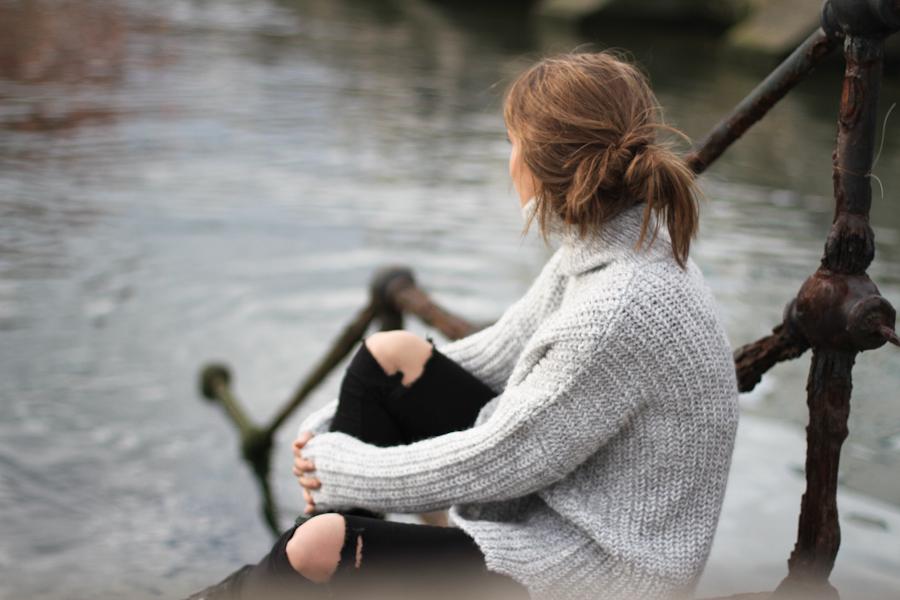 clochet - zara big cozy knit - isabel marant pour h&m oversized wool jacket-_-9