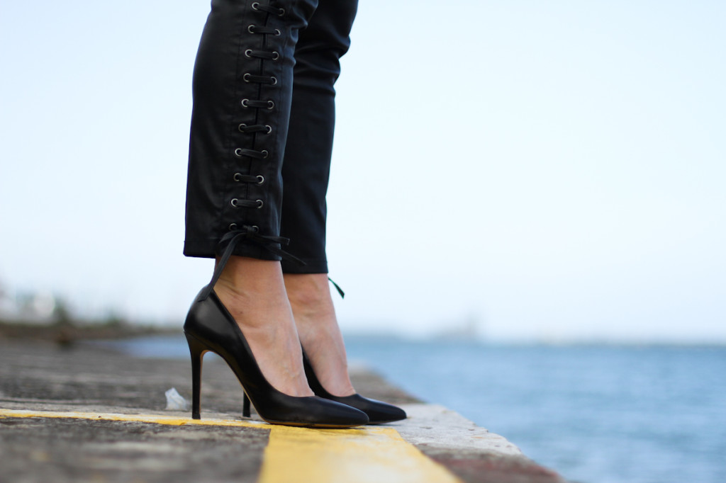 Leather And High Heels Acne Studios H Amp M Isabel