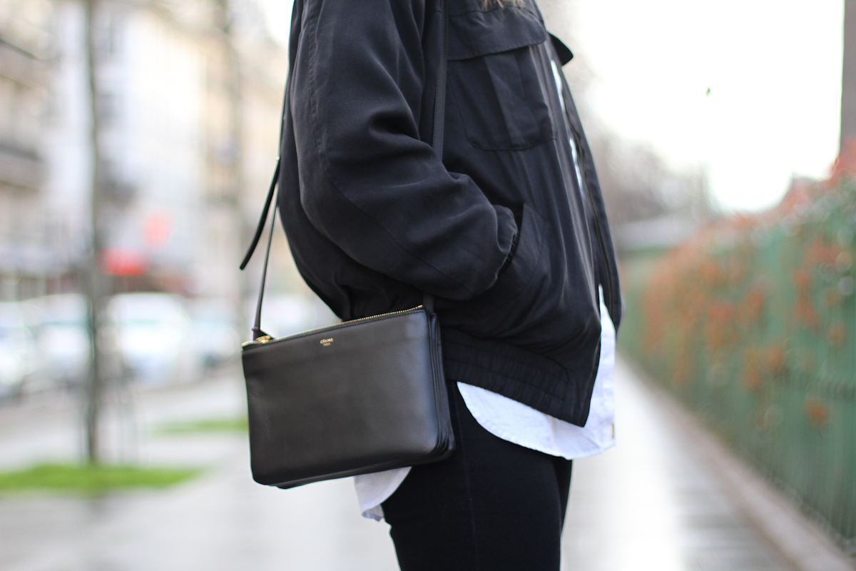 clochet - outfit - streetstyle - paris - brown long coat - mango bomber_-8