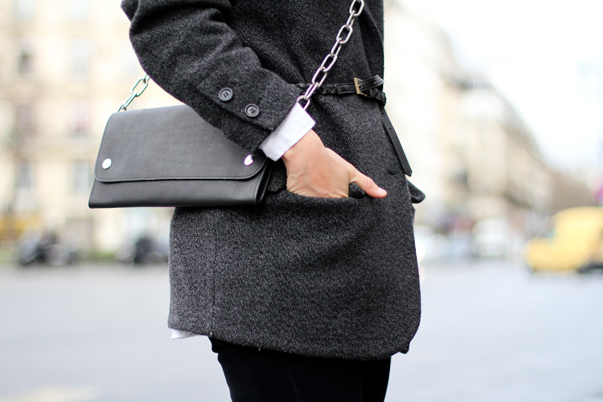 clochet - paris - acne shiloh clutch - isabel marant belted jacket - outfit - street style-11