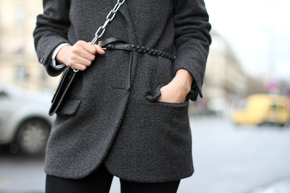 clochet - paris - acne shiloh clutch - isabel marant belted jacket - outfit - street style-12