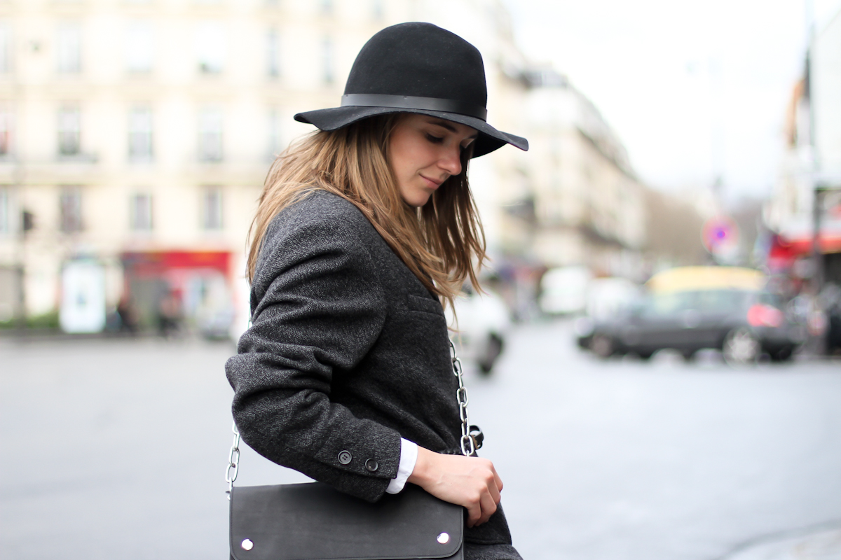 clochet - paris - acne shiloh clutch - isabel marant belted jacket - outfit - street style-7