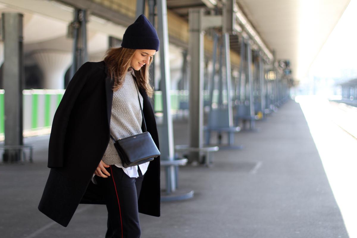 Gare d austerlitz celine cos daniel wellington clochet Celine fashion street style