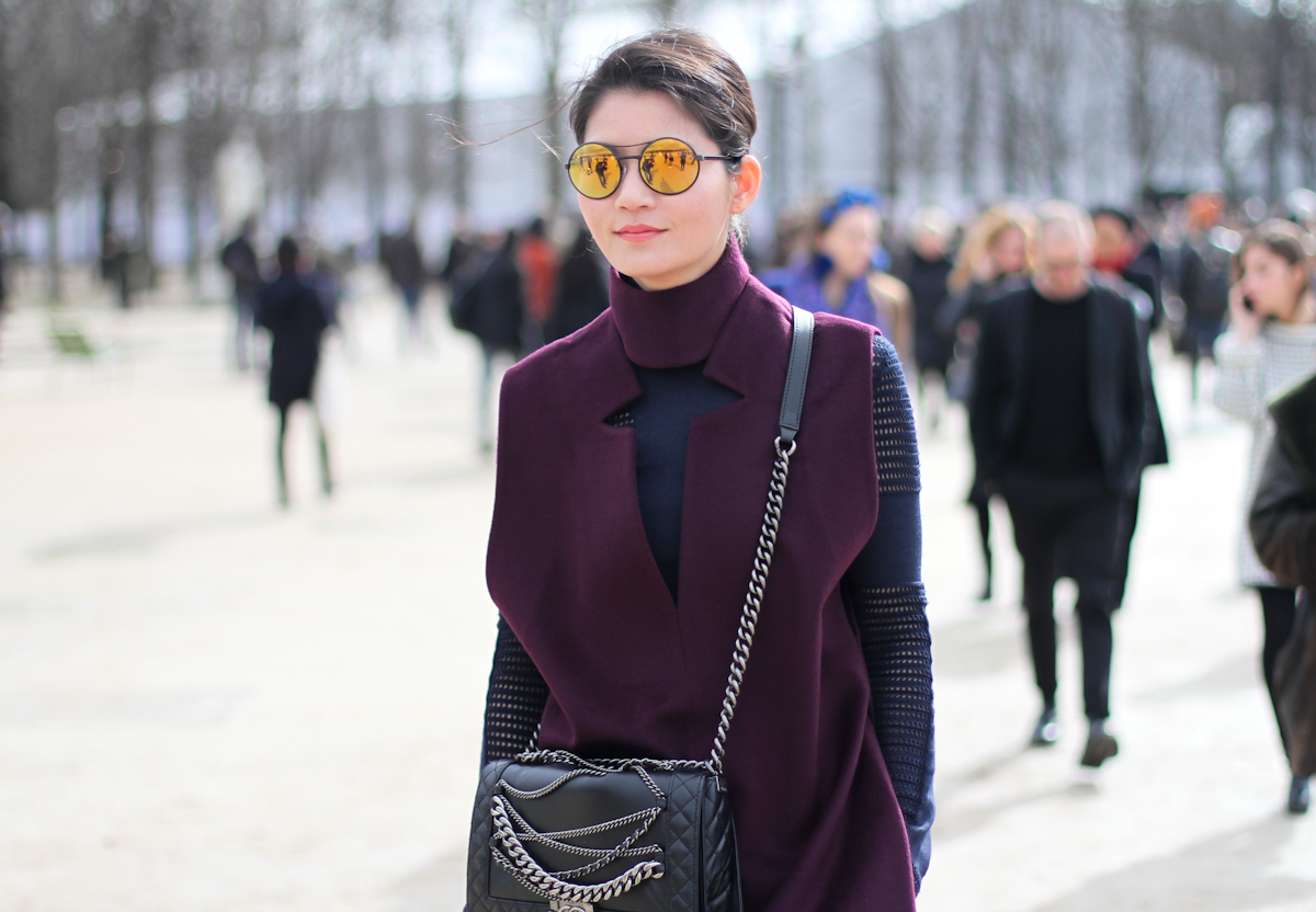 clochet - paris fashion week - streetstyle - pfw - 2014-16