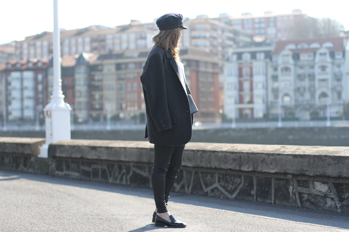 clochet - streetstyle - outfit -saint james marine cup - isabel marant oversized jacket- celine trio bag-6