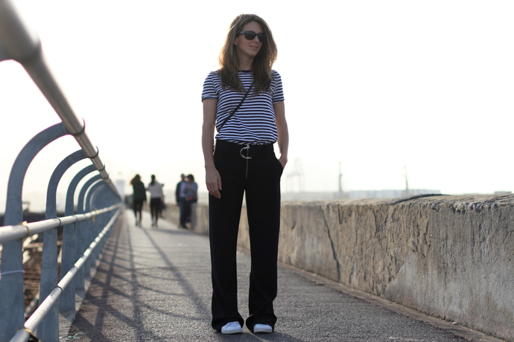 clochet - streetstyle - outfit - celinish zara wide trousers - adidas stan smith-2