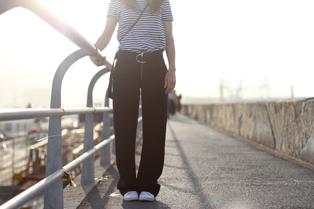 clochet - streetstyle - outfit - celinish zara wide trousers - adidas stan smith-3