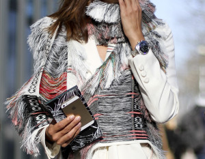 clochet - streetstyle - outfit - christine centenera - celine scarf -paris fashion week-8