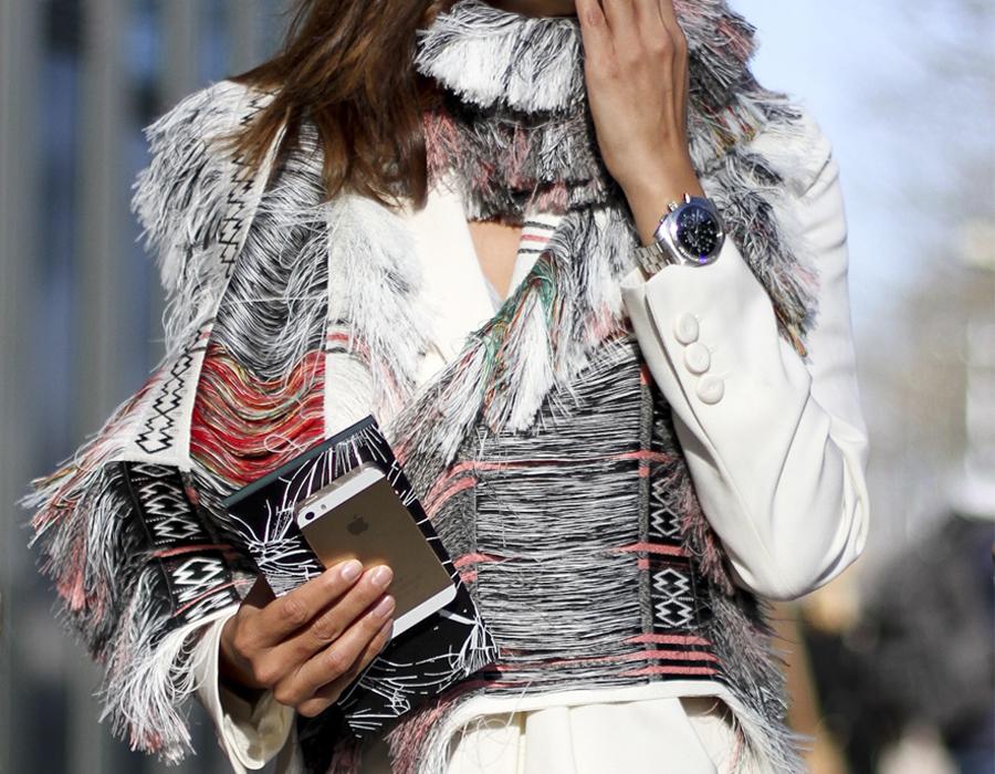 clochet - streetstyle - outfit - christine centenera - celine scarf -paris fashion week-8