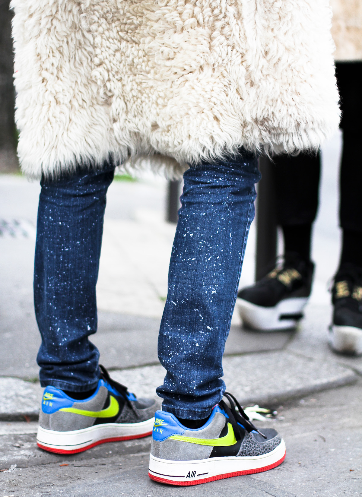 clochet - streetstyle - outfit - paris fashion week - nike pluffy coat