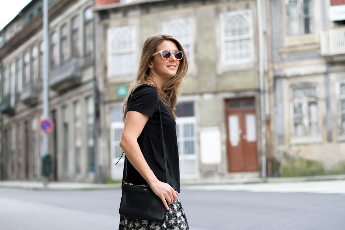 clochet - streetstyle - outfit - porto - portugal - h&m trend printed culottes - celine trio bag-15