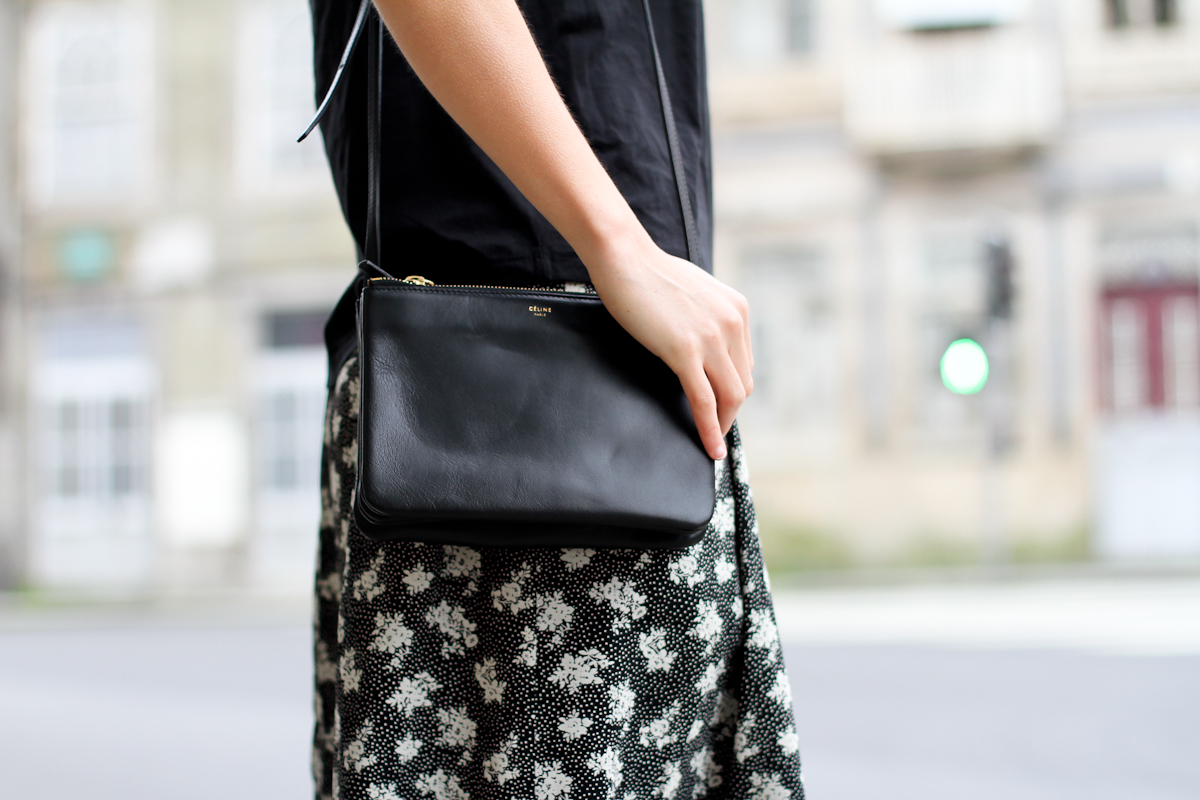 clochet - streetstyle - outfit - porto - portugal - h&m trend printed culottes - celine trio bag-19