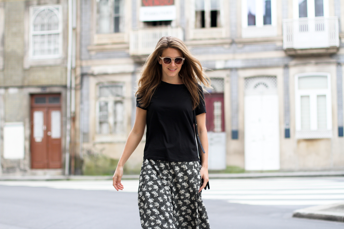 clochet - streetstyle - outfit - porto - portugal - h&m trend printed culottes - celine trio bag-9