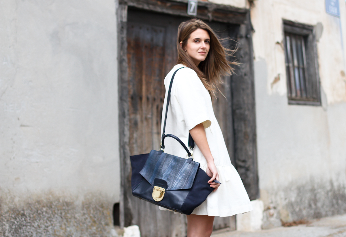 clochet - streetstyle - outfit - & other stories white dress - sushi bag-8