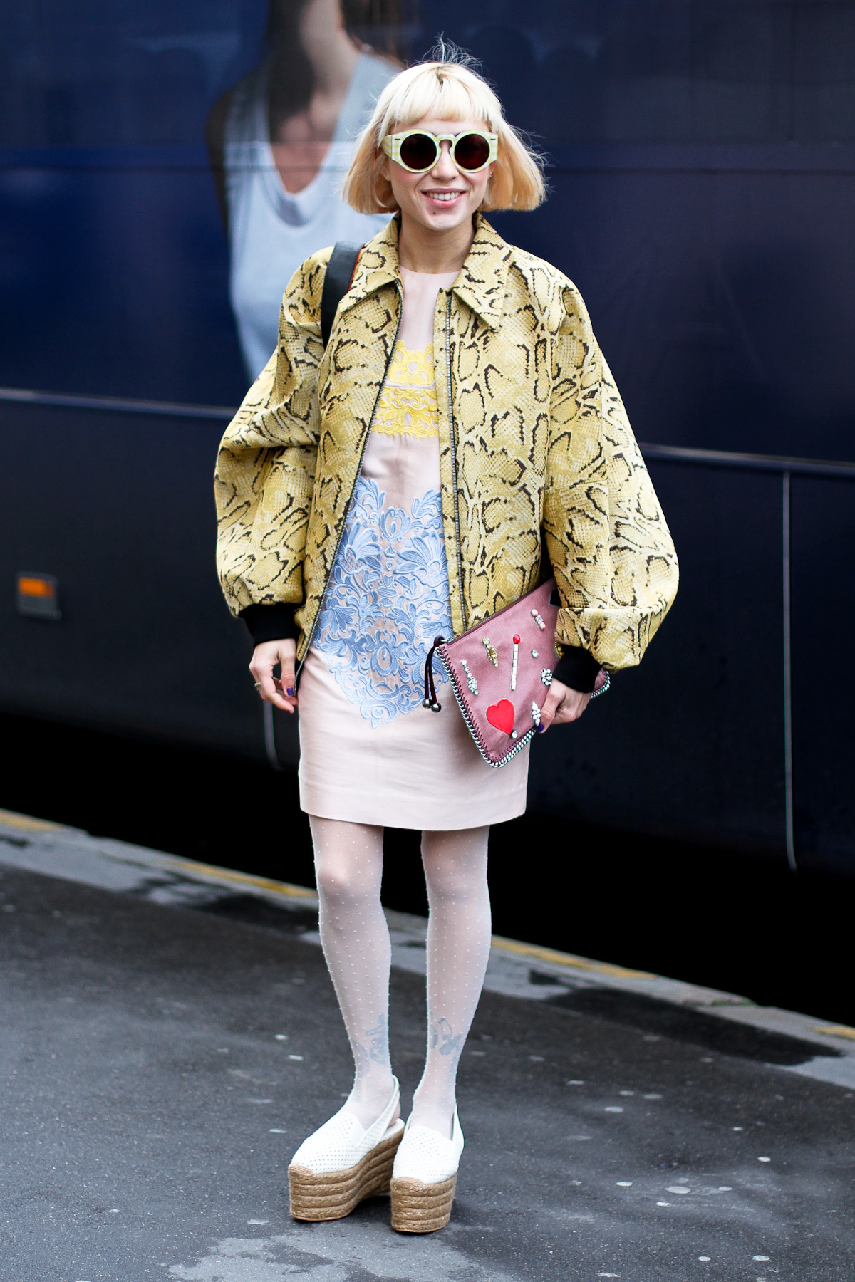 clochet - outfit- streetstyle - paris fashion week - miranda makaroff