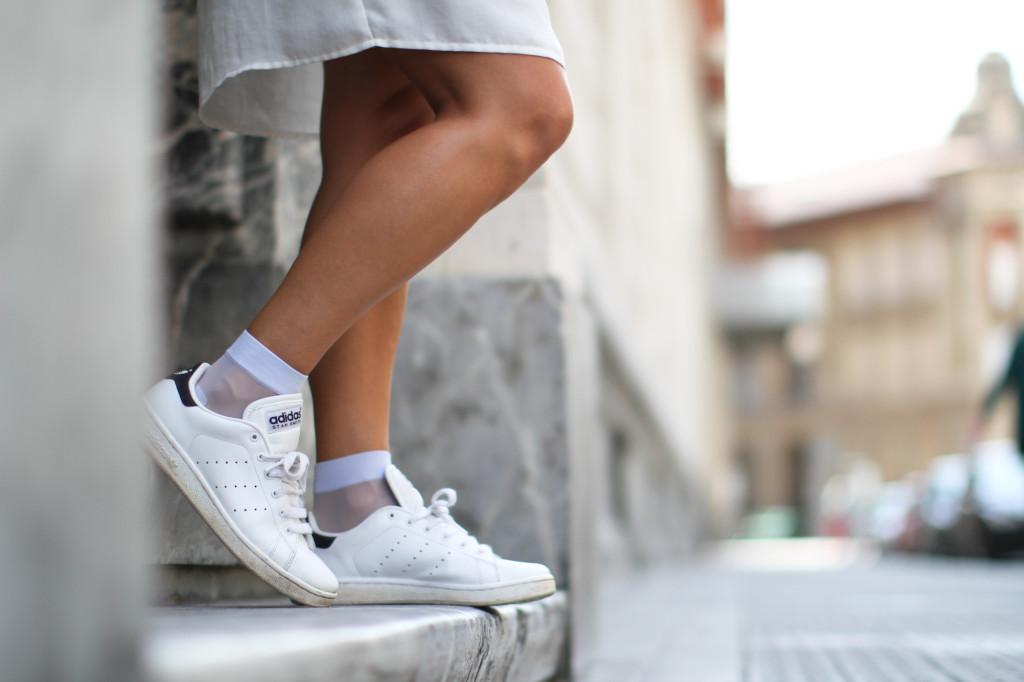 Lilac socks