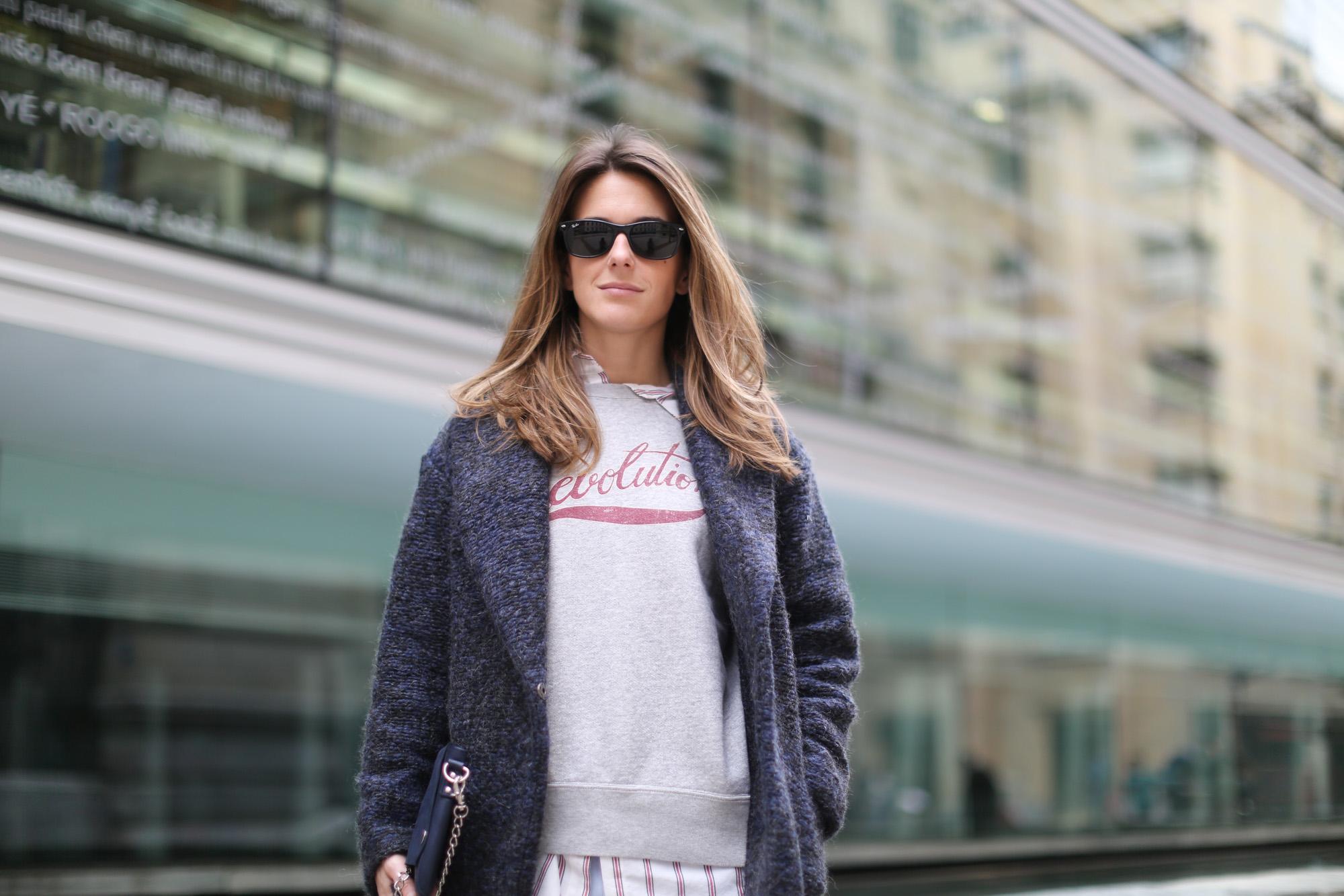 Clochet-streetstyle-mango-wool-coat-isabel-marant-etoile-revolution-sweatshirt-sushi-bag