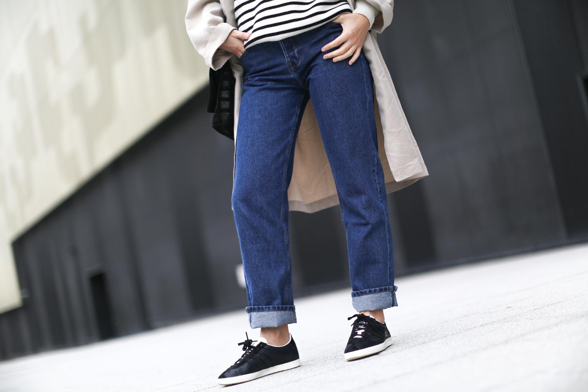 adidas gazelle jeans