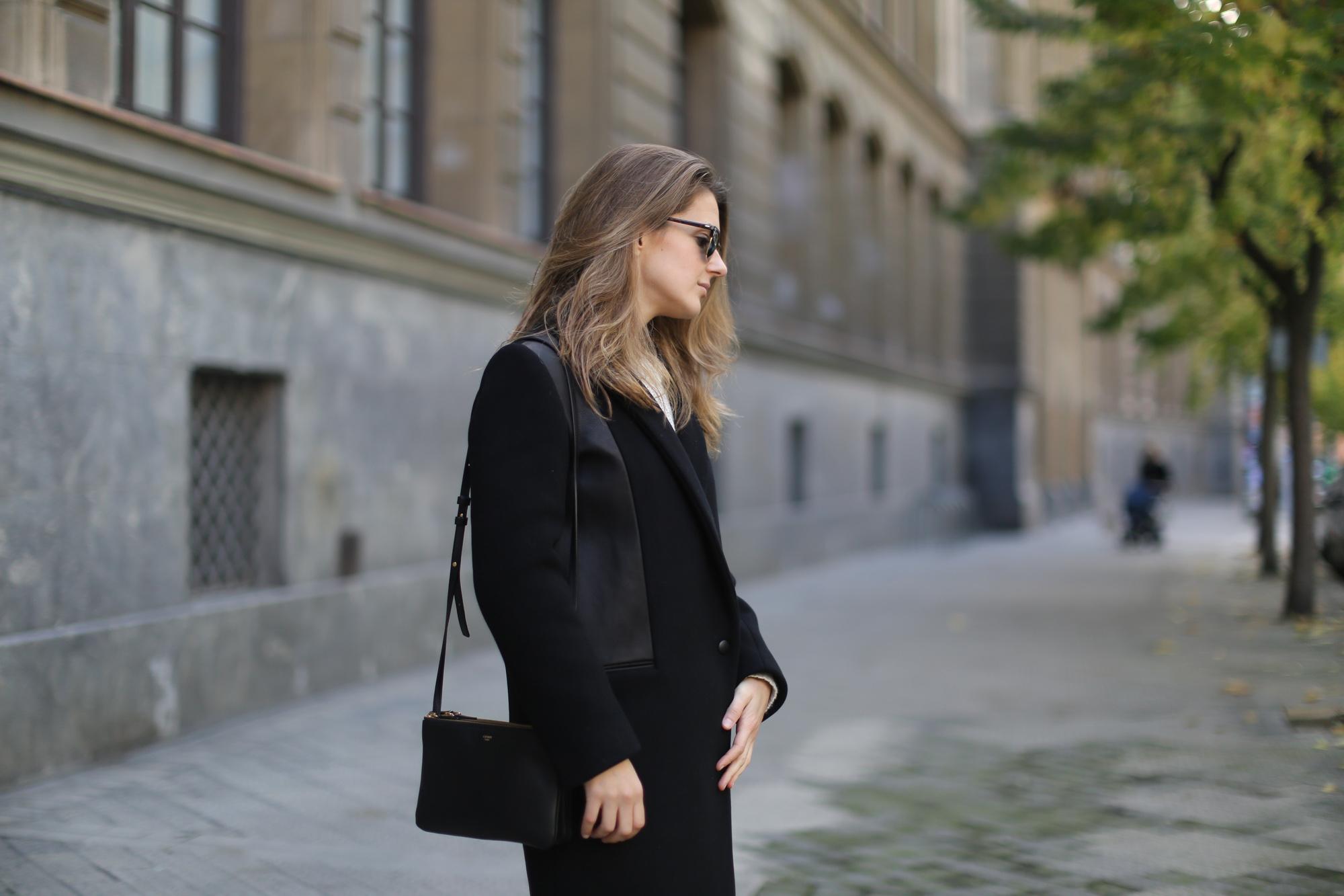 d33c95981c Clochet-streetstyle-sandro-coat-mango-leather-mini-celine-