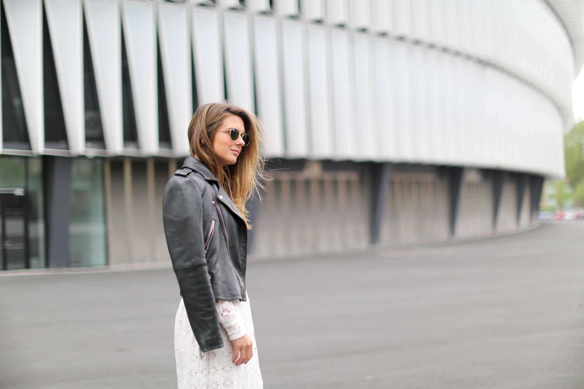 Clochet-streetstyle-mango-premium-leather-biker-jaket-zara-white-embroided-midi-dress-4