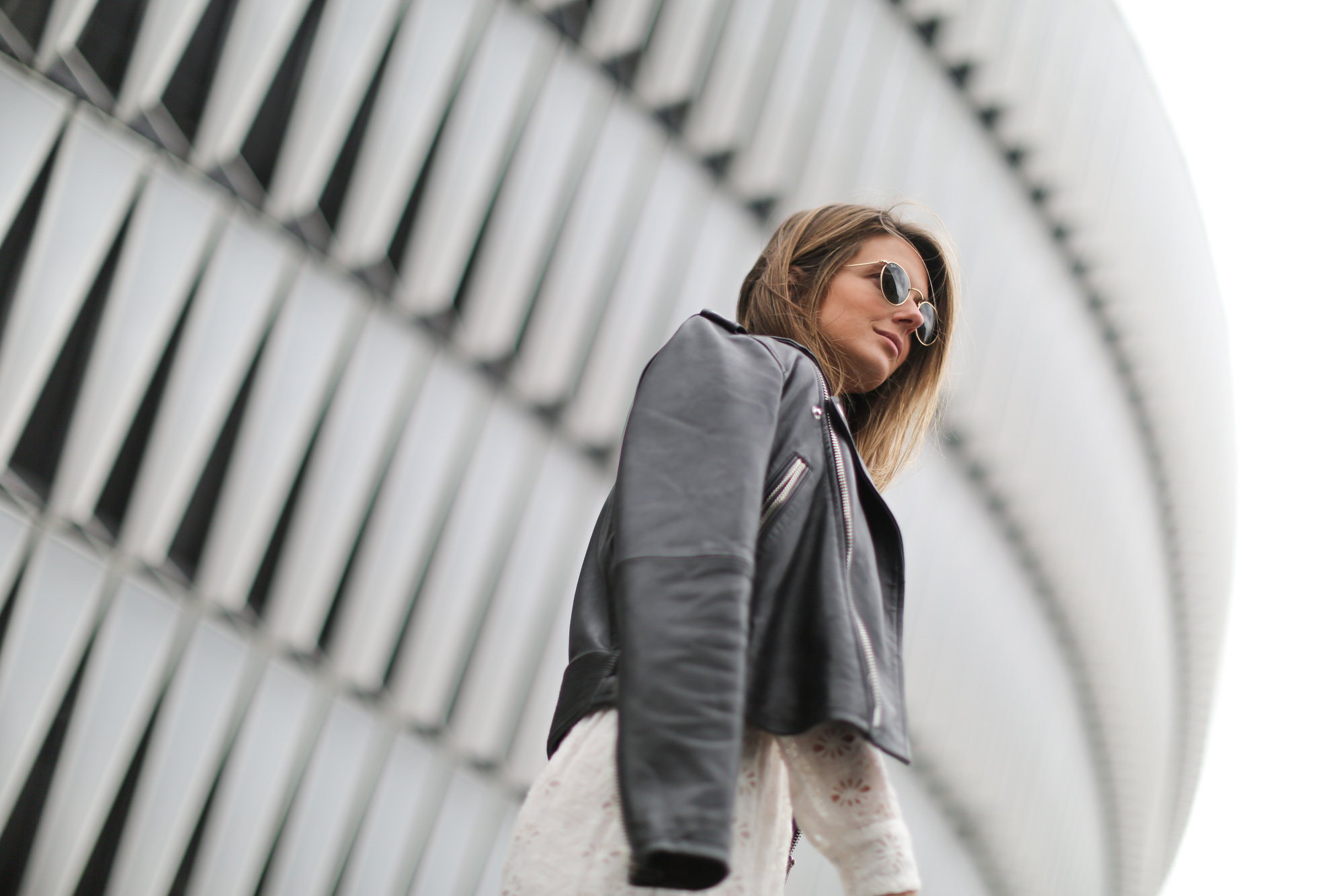 Clochet-streetstyle-mango-premium-leather-biker-jaket-zara-white-embroided-midi-dress-7