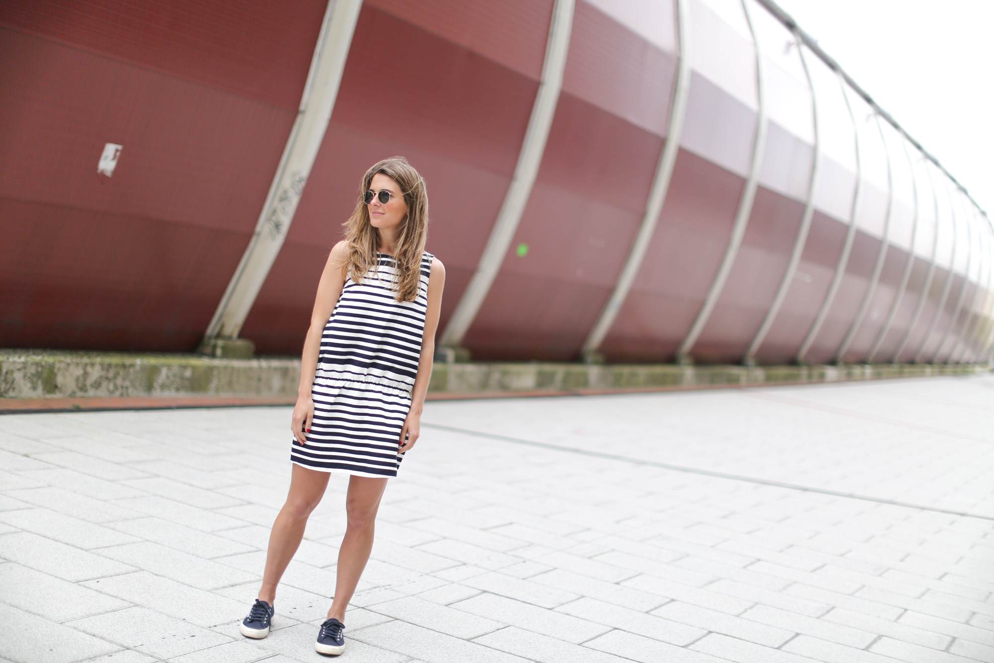 Striped dress blanco leztinstreet superga clochet - Billabong bilbao ...
