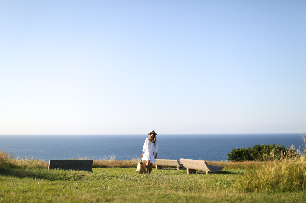Olive boho dress