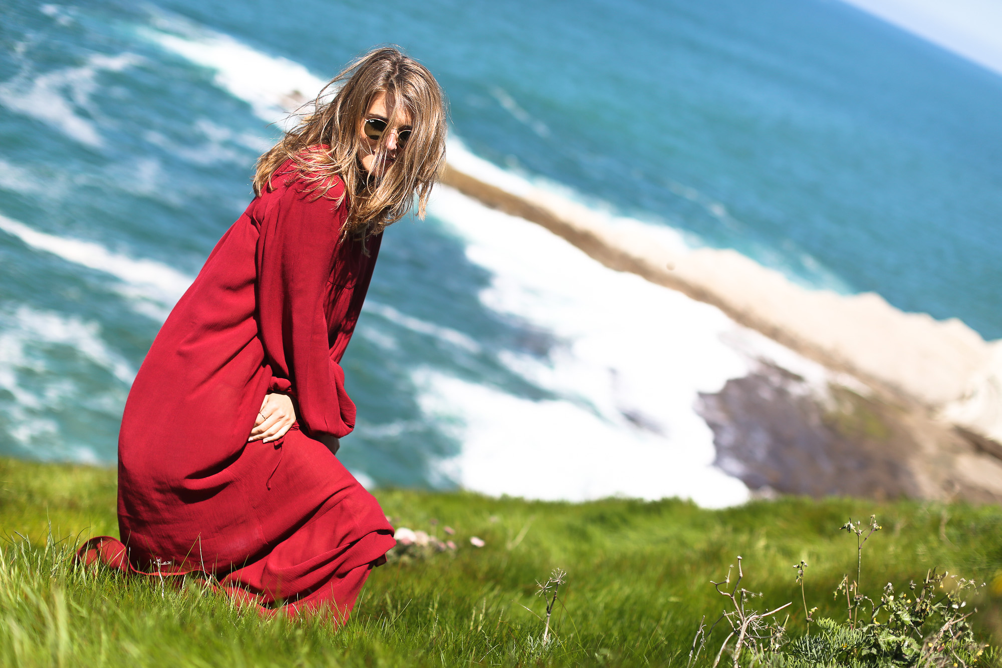 Clochet_streetstyle_zara_long_boho_red_dress-12