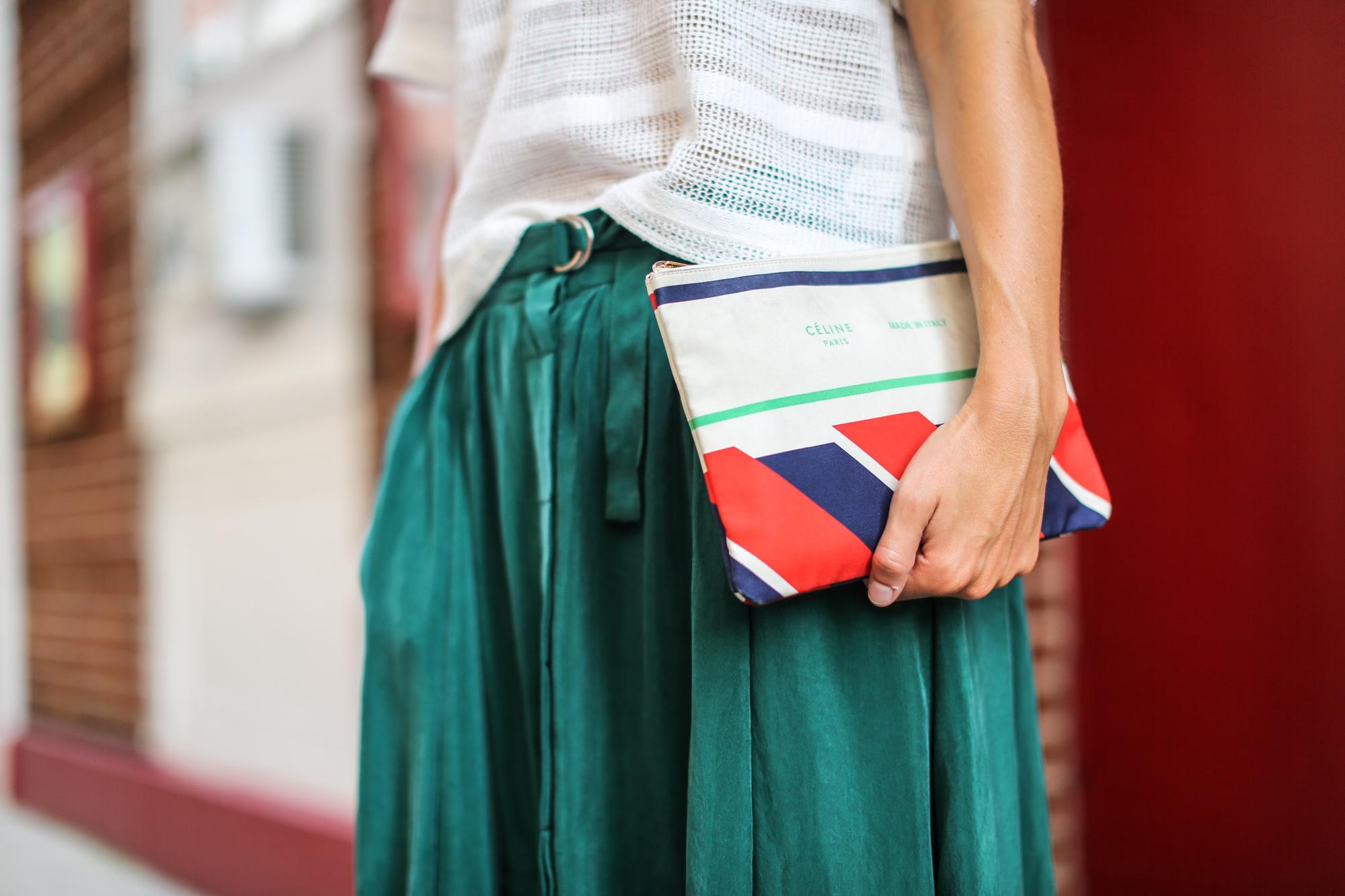 Clochet_streetstyle_newyork_h&m_trend_green_midi_skirt_adidas_stansmith-6