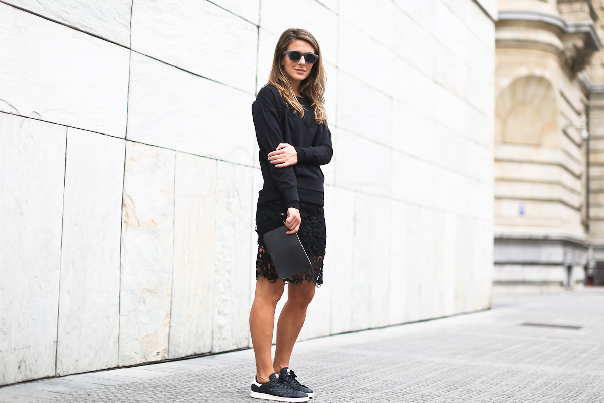 Adidas Stan Smith Black Outfit