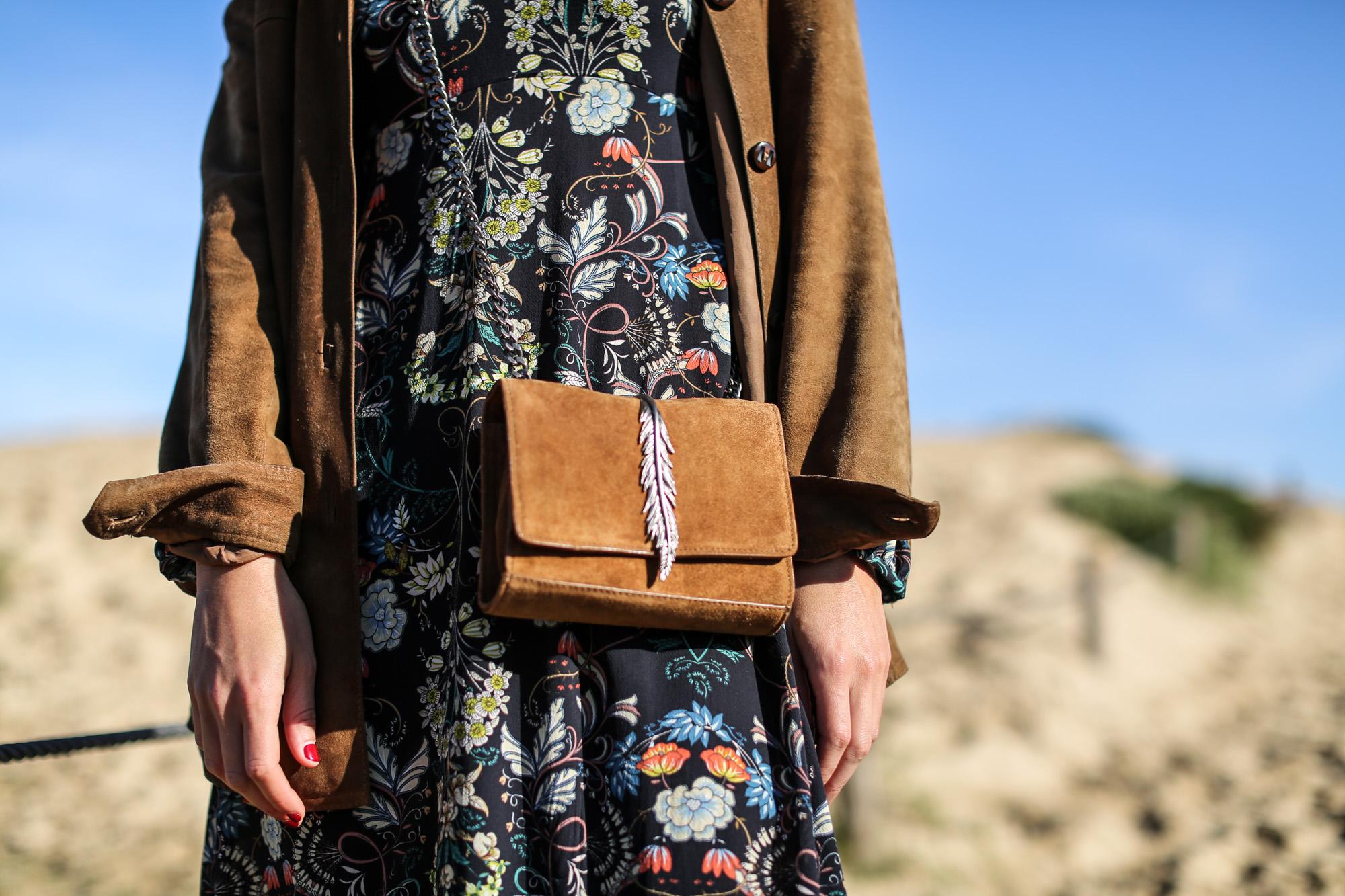 Clochet_streetstyle_zara_flower_print_midi_dress_vintage_suede_jacket-6